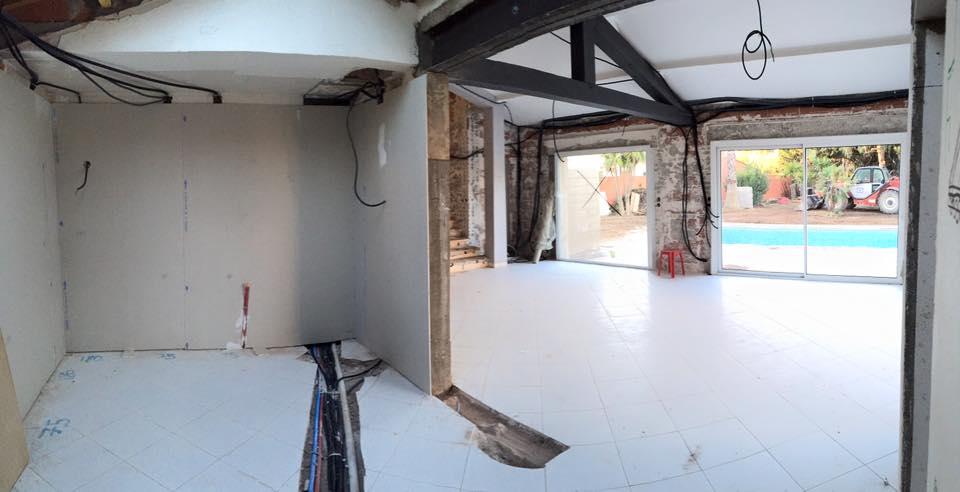 Avant la rénovation de la maison