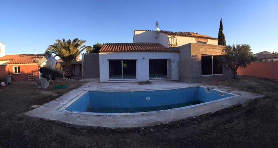 Rénovation et extension Saint-Cyprien piscine