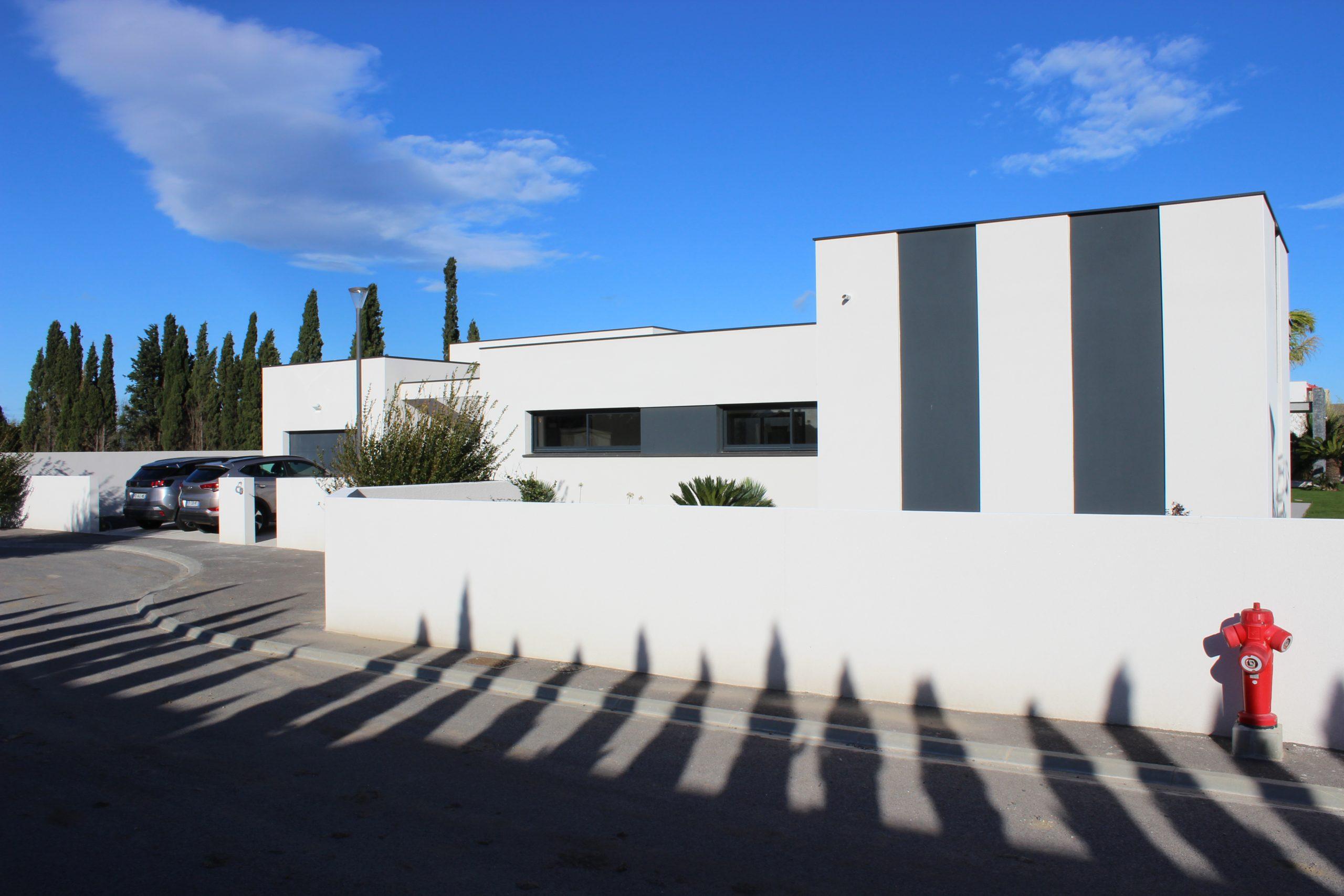 Façade Maison contemporaine Perpignan