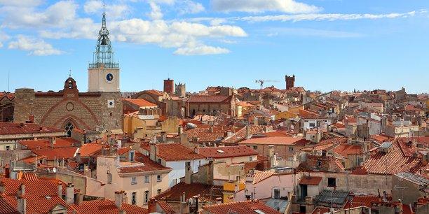 Visuel de la ville de Perpignan